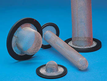 "EPDM TRI CLAMP SOCK SCREEN GASKET 1-1//2/"" 10 MESH 6/"""